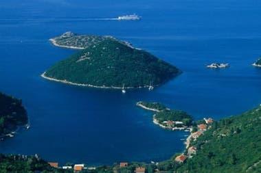 En 1397 se decidió crear un lazareto en la isla de Mljet.