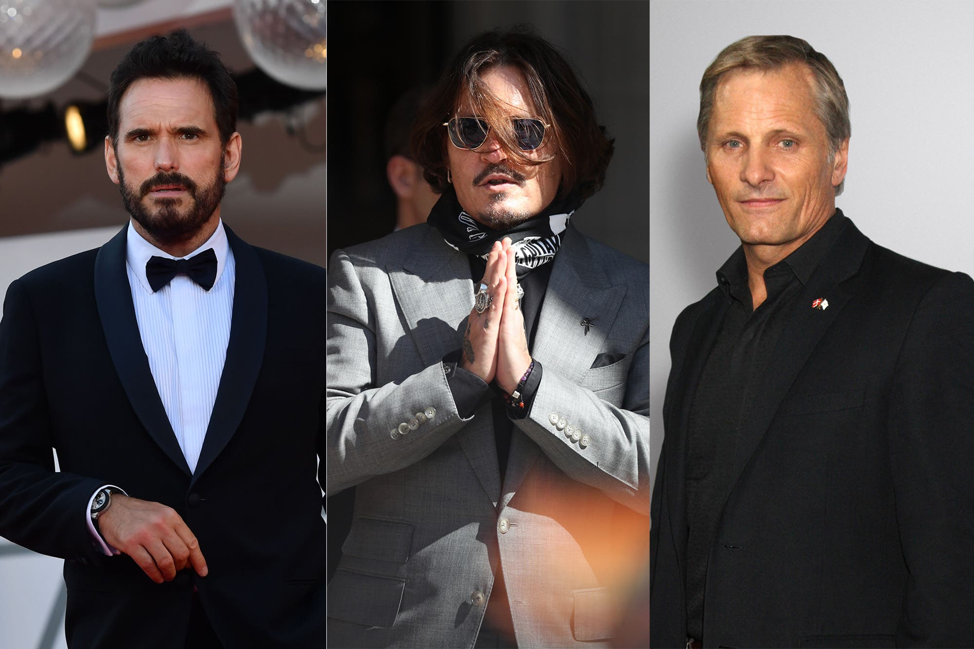 Johnny Depp, Matt Dillon y Viggo Mortensen, presentes en el festival de cine de San Sebastián