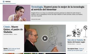 El diario El Mundo, de España