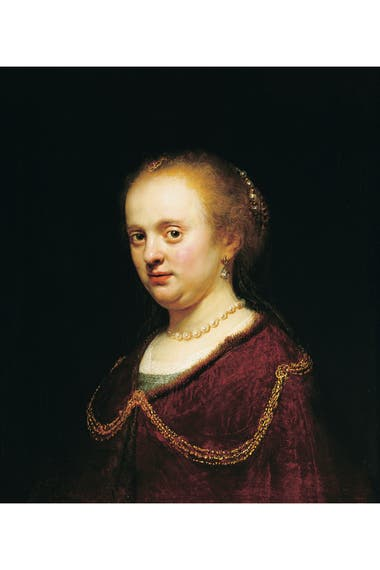 Un Rembrandt que forma parte del recorrido habilitado para visitar el MNBA