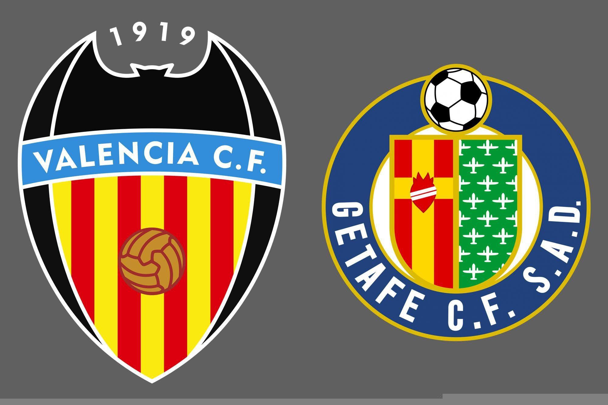 Liga de España: Valencia y Getafe empataron 2-2