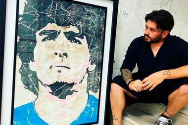 Diego Maradona Junior contó que dio positivo en Covid y no puedo viajar a ver a su padre