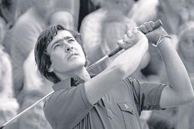 1983: en una exhibición con Jack Nicklaus en el club inglés Ladybank GC