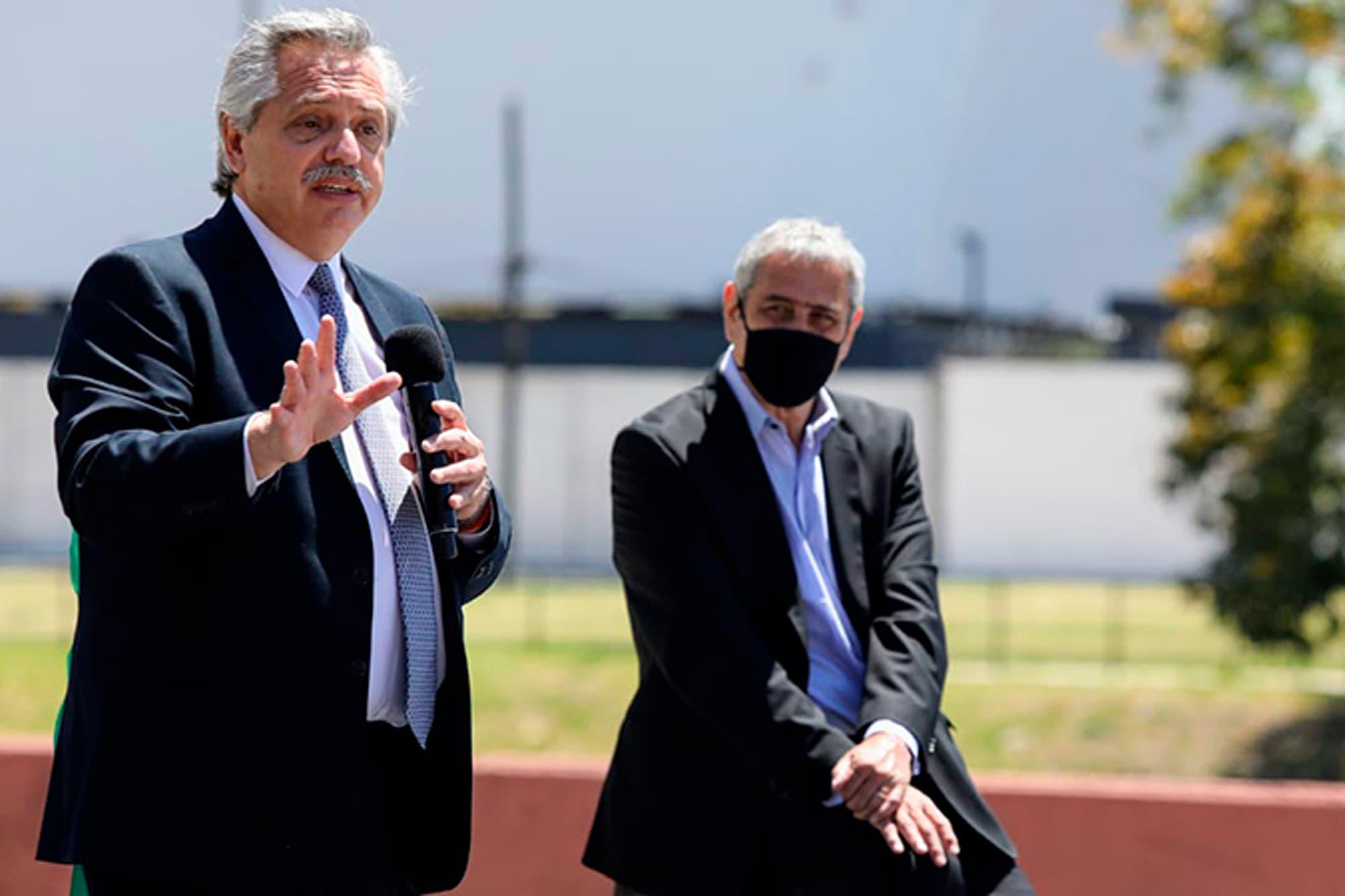 Alberto Fernández habló sobre el ajuste a los jubilados y el FMI