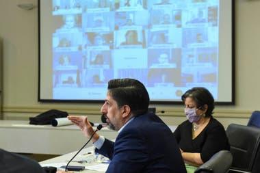 La asamblea del Consejo Federal de Educación se realizó por videoconferencia; fue encabezada por el ministro nacional, Nicolás Trotta