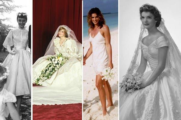 vestidos de novia inolvidables - la nacion
