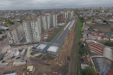 Pompeya: eliminan hoy una de las barreras más transitadas de la Ciudad
