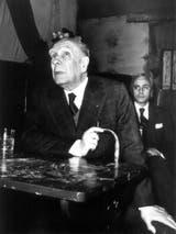 Borges en el Tortoni