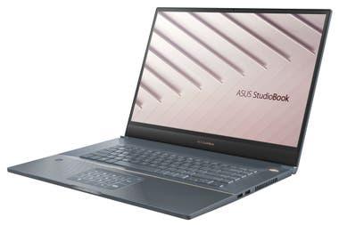 La StudioBook de Asus incorporó el teclado numérico en el touchpad