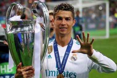 Cristiano ganó las últimas ediciones de Champions con Real Madrid: ahora quiere devolverle la grandeza a Juventus