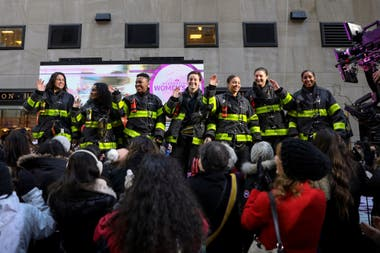 Las bomberas de New York, USA.