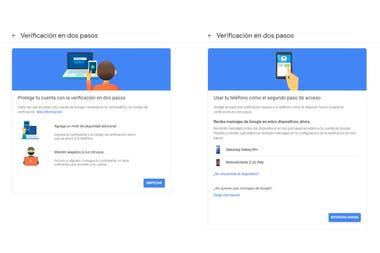 Los pasos para activar la verificación de identidad en el teléfono