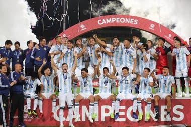 Argentina se coronó campeón del sub 17 tras la derrota ante Ecuador