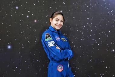 """""""Por mi pasión por el espacio, a mí me gusta mucho inspirar a otros"""""""