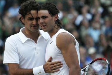 Federer-Nadal, otra vez en Wimbledon después de 11 años