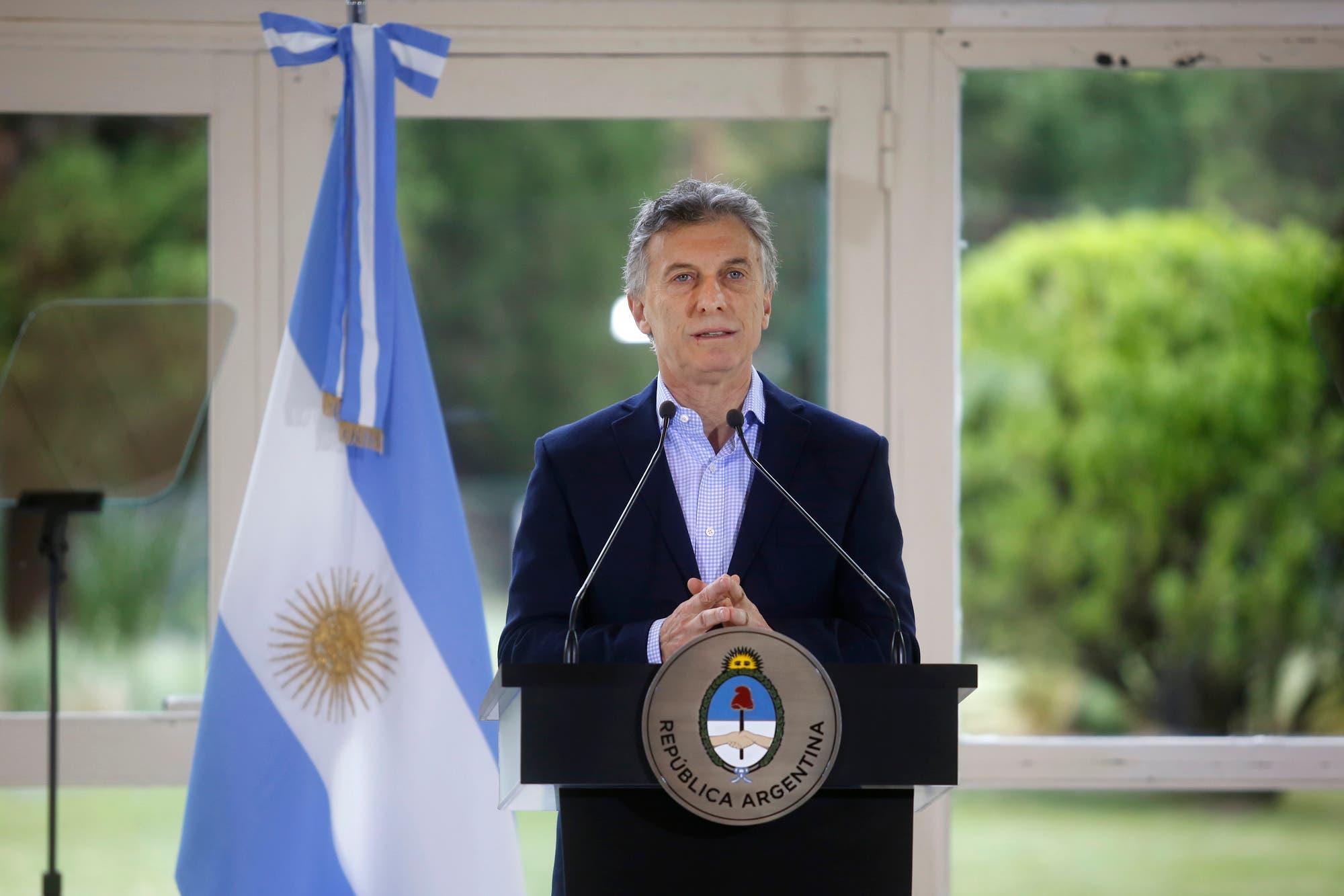 """Mauricio Macri: """"Mi responsabilidad es hacerme cargo y resolver las urgencias"""""""