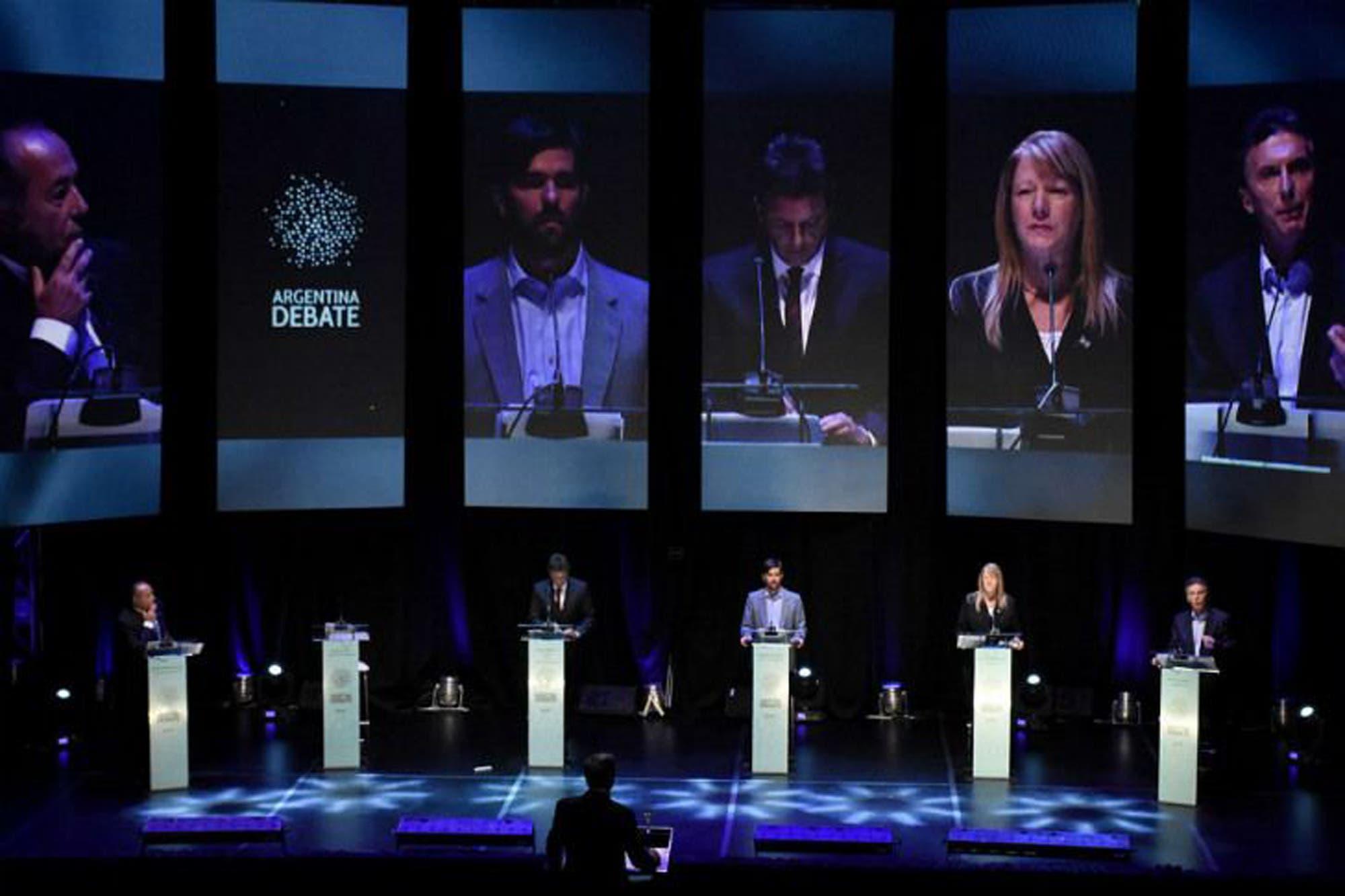 Cuándo es el debate presidencial de octubre y a qué hora empieza la transmisión de TV