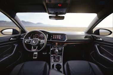 Diseño sobrio y característico de los modelos de Volkswagen