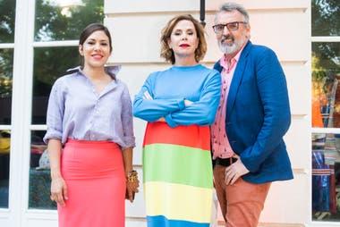 Carmine Dodero, Agatha Ruiz de la Prada y Benito Fernández