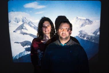 Silvina Arnouil y Rubén De Carli nacieron en la Antártida