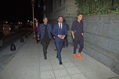 """Antonio """"Tocho"""" Fernández Nortes, Pocho Lavezzi y Ludovico Di Santo estuvieron entre los 380 invitados"""