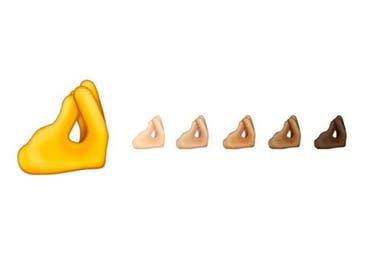 El gesto de pregunta, que tiene otros usos en el resto del mundo, es parte del set de emojis 13 del consorcio Unicode, y estará disponible en los próximos meses