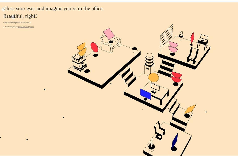 Extraño la oficina
