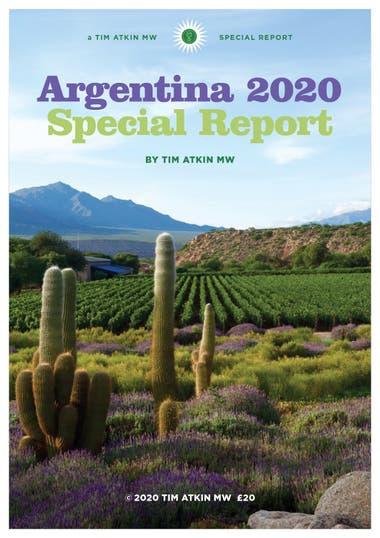Portada del reporte sobre vinos argentinos de Tim Atkin