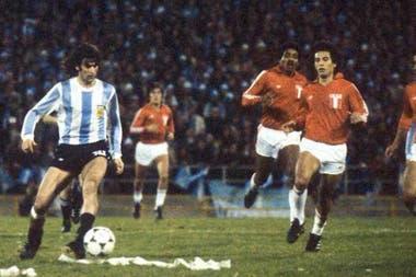 Argentina vs. Perú, en Rosario; el partido de la goleada que llevó a la final a la selección nacional