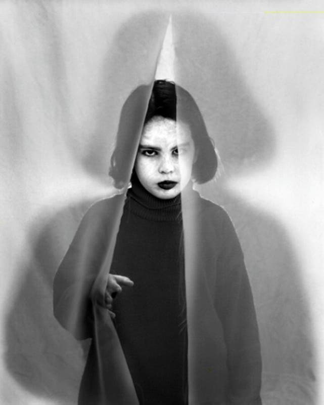Un retrato de Eliane, su hija, 1997