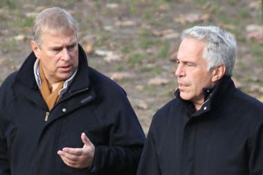 El príncipe Andrés conoció a Epstein a través de su exnovia Maxwell