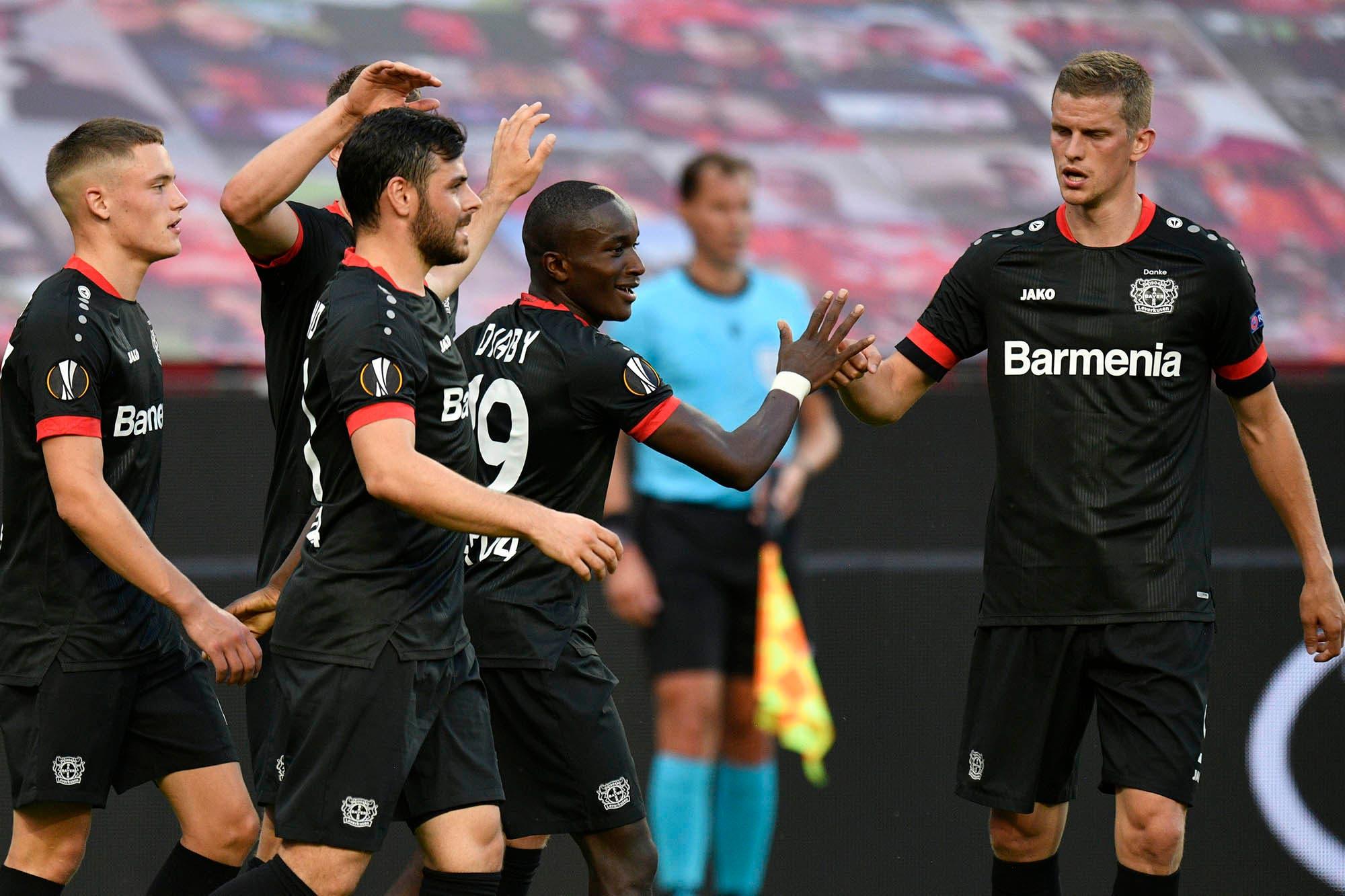 Europa League. Bayer Leverkusen, Basel y Wolverhampton completaron los octavos de final y Alemania espera