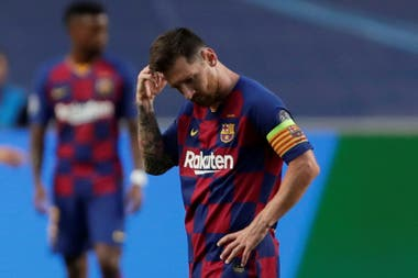 Messi, luego de la derrota de Barcelona ante Bayern Munich
