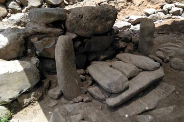 Supuesta puerta de la ciudad de Betsaida