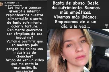 """Marcela Kloosterboer en contra del acuerdo porcino con China: """"Basta de abuso"""""""