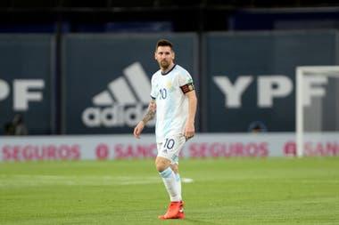 Lionel Messi, capitán y símbolo de la Albiceleste