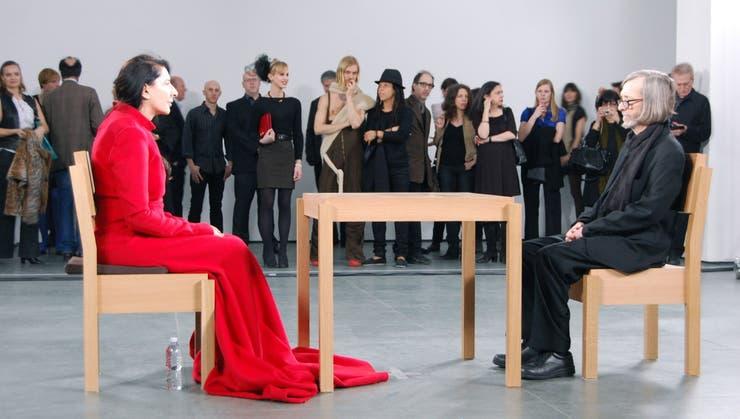 Abramovic vino a Buenos Aires en la primera Bienal de Performance