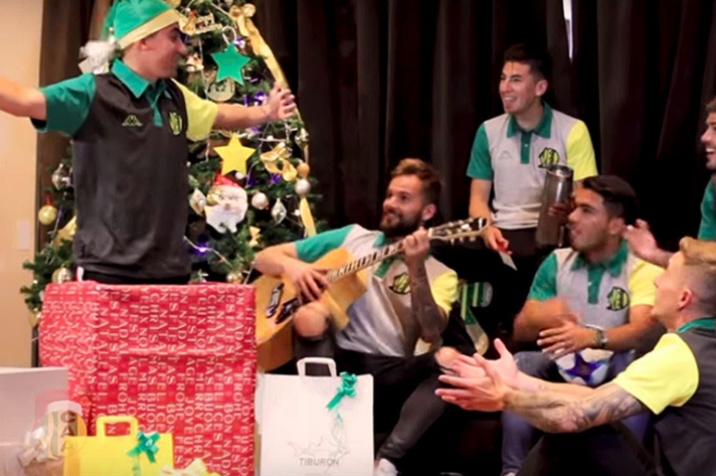 El divertido video de Navidad que armó el plantel de Aldosivi