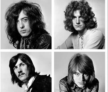 Una de las imágenes del libro Led Zeppelin 50 Aniversario
