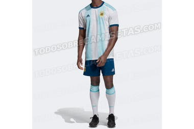 Se filtró el nuevo diseño de la camiseta de Argentina