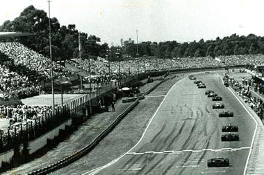 Mario Andretti lidera el GP de 1978; Fangio cometió un error increíble en el desenlace