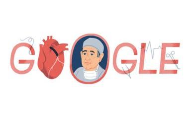 Google celebró el 96° aniversario del nacimiento del doctor que revolucionó la cardiología