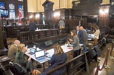 El juicio empezó el lunes pasado