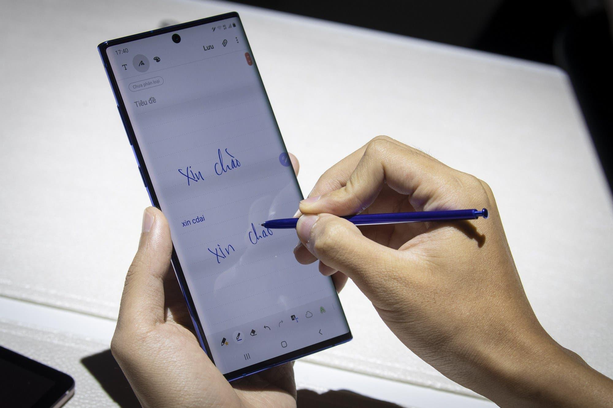 Galaxy Note 10: probamos el flamante smartphone de Samsung