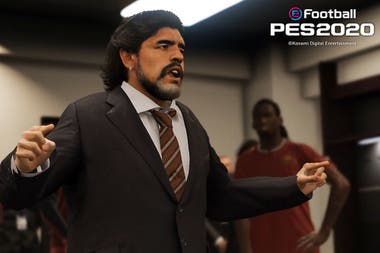 Diego Maradona será una de las figuras del PES 2020 en la sección Leyendas, junto a Batistuta, Ronaldinho y Beckham, entre muchos otros
