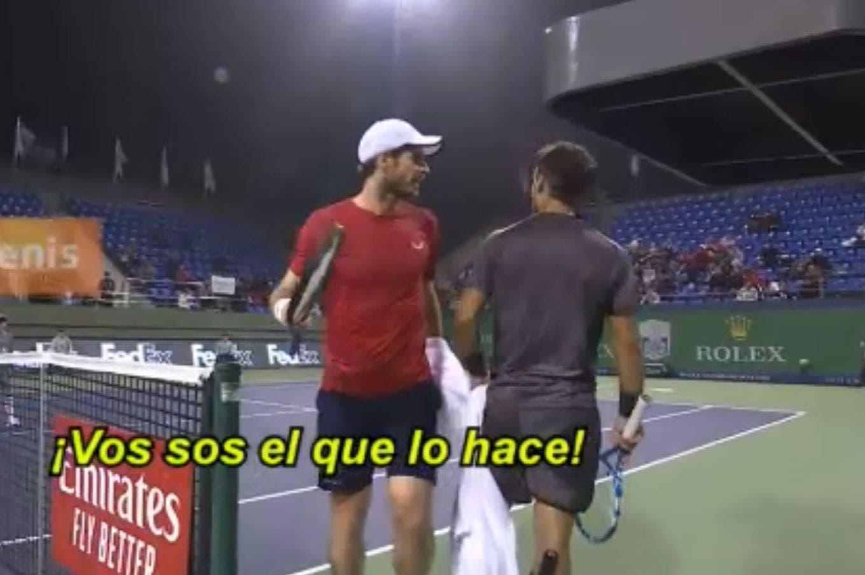 Masters 1000 de Shanghai: la discusión entre Fognini y Murray, dos jugadores con antecedentes picantes