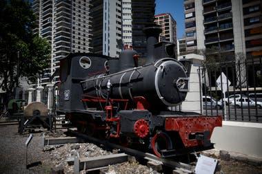 La locomotora Hunslet Engine Co que prestó servicio durante la Primera Guerra Mundial