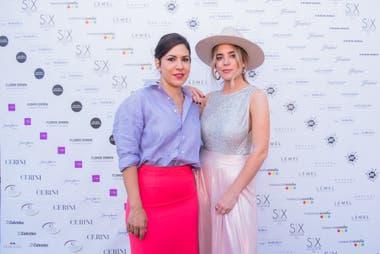 Carminne Dodero y Mery Garavilla