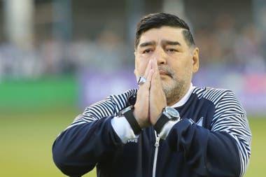 Diego Maradona, una personalidad que despertó devoción