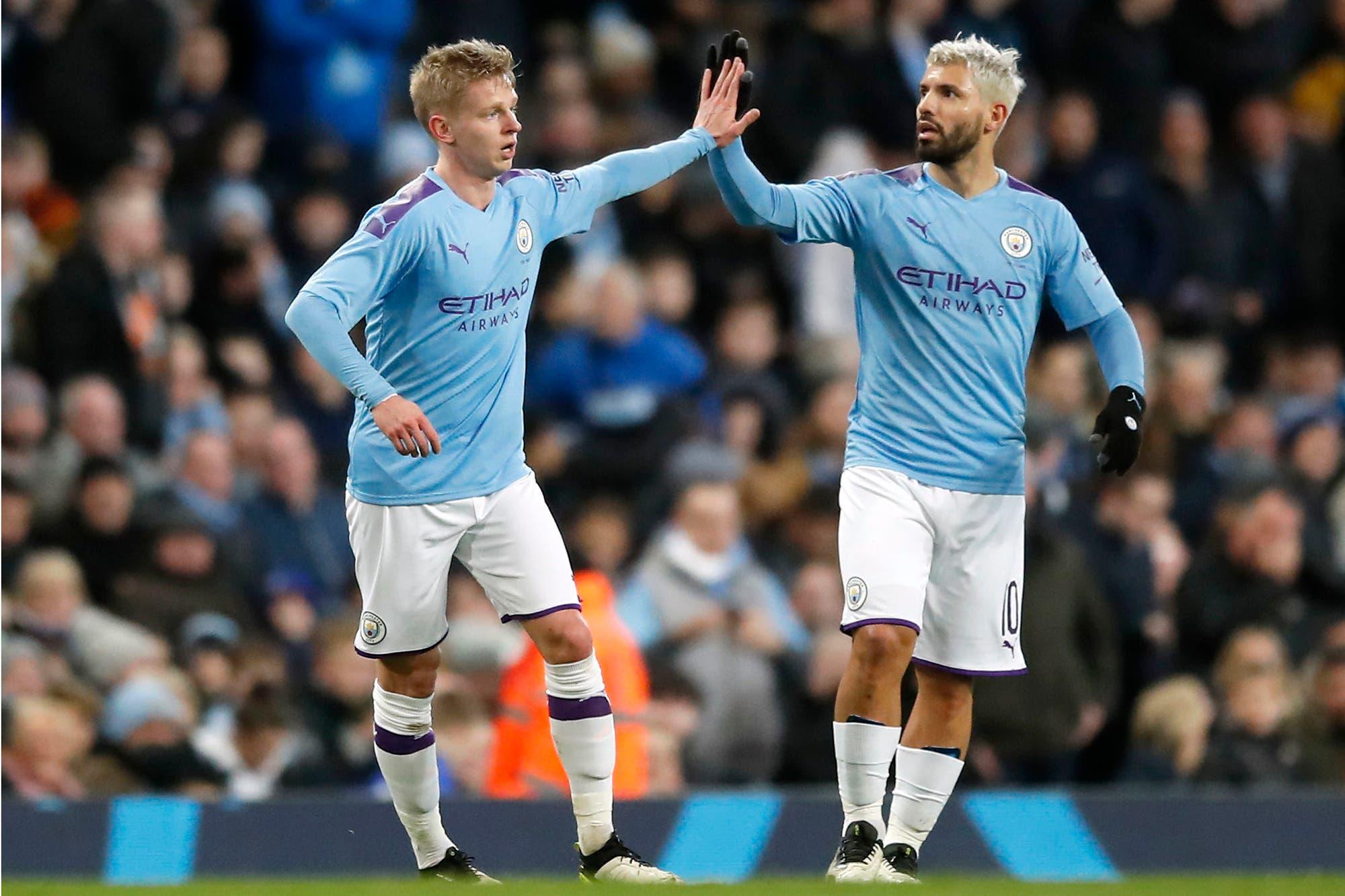 FA Cup: Agüero convirtió su primer gol del año en la victoria del City y Romero salvó al United de una dura derrota